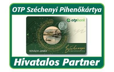 OTP Széchenyi Pihenőkártya elfogadás